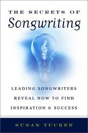 Cover of: The Secrets of Songwriting