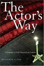 Cover of: The Actor's Way