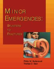 Cover of: Minor Emergencies | Philip Buttaravoli