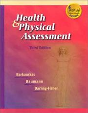 Cover of: Health and physical assessment | Violet Barkauskas