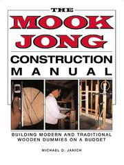 Cover of: Mook Jong Construction Manual