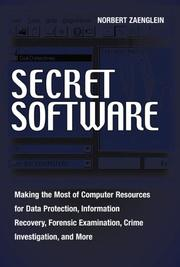 Cover of: Secret software