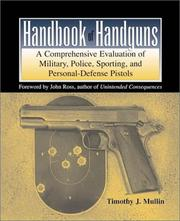 Cover of: Handbook of handguns