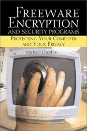 Cover of: Freeware Encryption and Security Programs