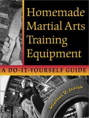 Cover of: Homemade martial arts training equipment