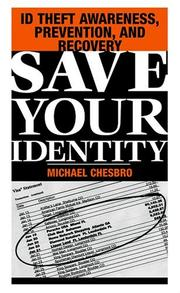 Cover of: Save Your Identity