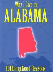 Cover of: Why I Live in Alabama
