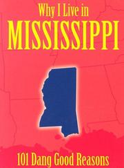 Cover of: Why I Live in Mississippi