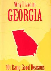 Cover of: Why I Live in Georgia