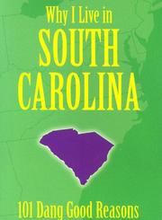 Cover of: Why I Live in South Carolina