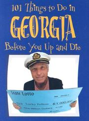 Cover of: 101 Things to Do in Georgia Before You Up and Die