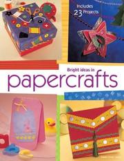 Cover of: Bright Ideas in Papercraft | Susan Niner Janes