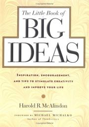 Cover of: The little book of big ideas
