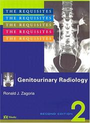 Cover of: Genitourinary Radiology | Ronald Zagoria