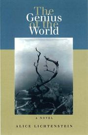 Cover of: The genius of the world: a novel