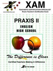 Cover of: Praxis English High School (Praxis II Teacher