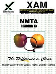 Cover of: NMTA Reading 13 | Sharon Wynne