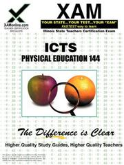 Cover of: ICTS Physical Education 144 | Sharon Wynne
