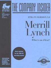 Cover of: Merrill Lynch | Wetfeet.Com
