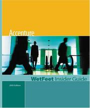 Cover of: Accenture | WetFeet