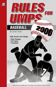 Cover of: Rules For Umps