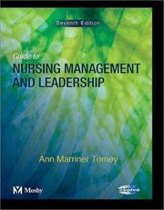 Cover of: Guide to Nursing Management and Leadership | Ann Marriner Tomey