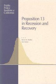 Proposition 13 in recession and recovery