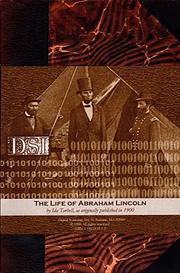 Cover of: The Life of Abraham Lincoln ( Vols. 1-4 )