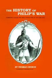 Cover of: The History of Philip