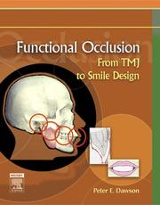 Cover of: Functional Occlusion