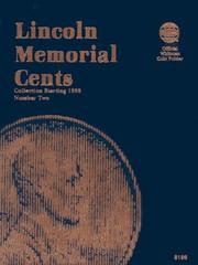 Cover of: Lincoln Memorial Cents Number Two | Whitman Coin