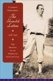 Cover of: The Harold letters, 1928-1943