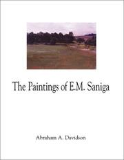 Cover of: The Paintings of E. M. Saniga
