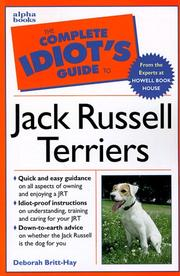 Cover of: The complete idiot's guide to Jack Russell terriers