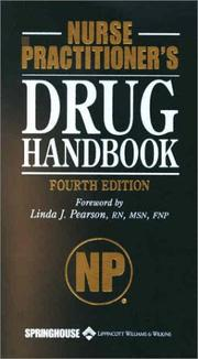 Cover of: Nurse Practitioner's Drug Handbook