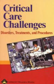 Cover of: Critical Care Challenges