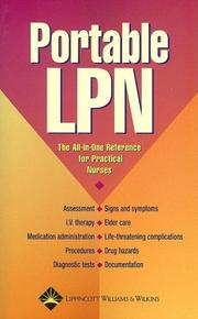 Cover of: Portable LPN