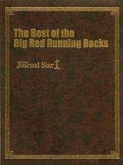 Cover of: The Best of the Big Red Running Backs |