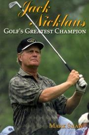 Cover of: Jack Nicklaus