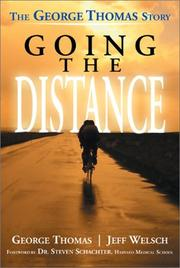 Cover of: Going the Distance | George Thomas