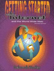 Cover of: Getting Started With the Internet and the World Wide Web