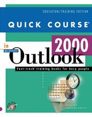 Cover of: Quick course in Microsoft Outlook 2000