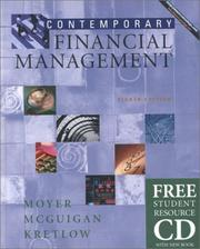 Cover of: Contemporary Financial Management with Student Resource CD ROM | R. Charles Moyer, James R. McGuigan, William J. Kretlow
