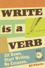 Cover of: Write Is a Verb