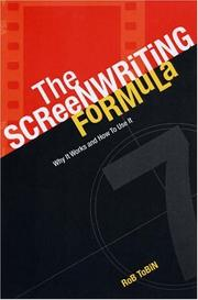 Cover of: The Screenwriting Formula