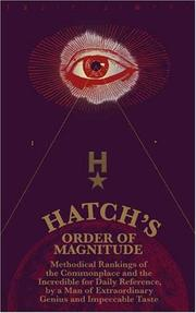 Cover of: Hatch