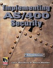 Cover of: Implementing AS/400 Security, 4th Edition | Carol Woodbury