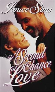 Cover of: A second chance at love | Janice Sims
