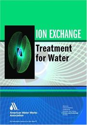 Cover of: Ion exchange treatment of water