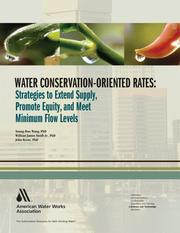 Cover of: Water conservation-oriented rates